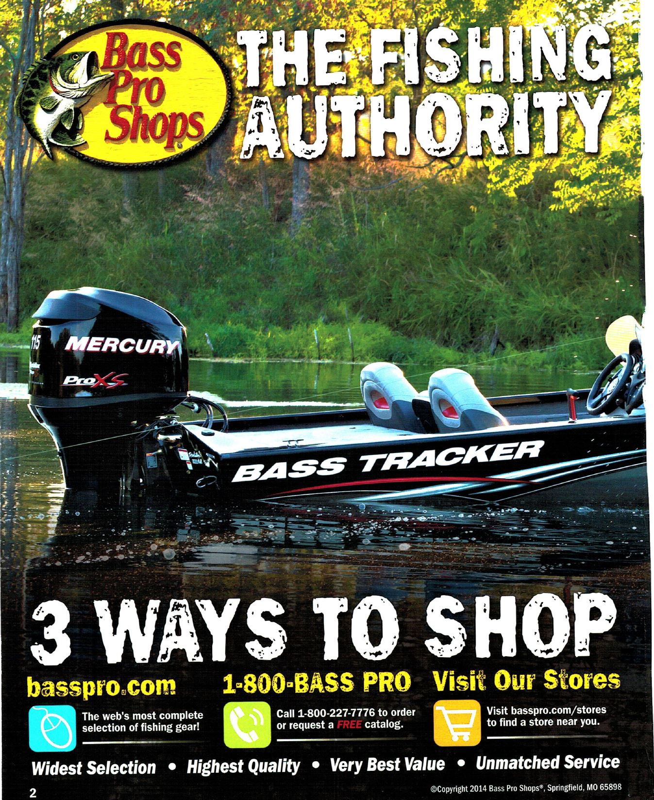 Bass Pro Shop Summer Catalog 2014 – ORCA